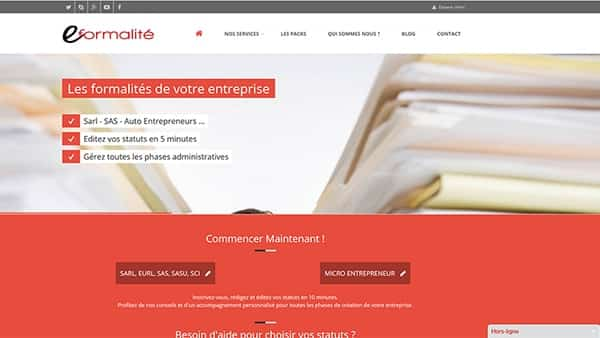 site onePage